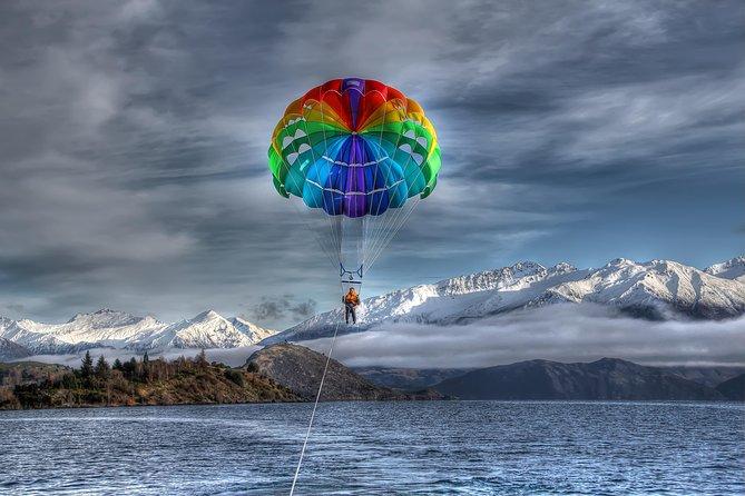 Parasailing Flight, Wanaka, NUEVA ZELANDIA