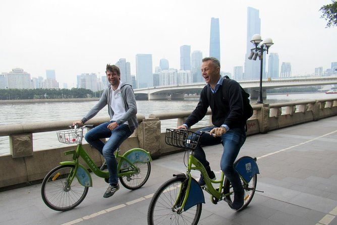 Guided Cycle Tour of Guangzhou, Canton, CHINA