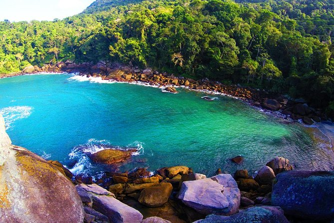 The Full-Day - Around Island Tour is the most special activity for who wish know the most beautiful places in one of the most famous and paradisiac brazilian island,recently declared by Unesco world natural heritage. <br><br>Ilha Grande is one of the most fantastic places in the world and we take you to know all the most magical and unforgettable corners you can imagine.<br><br>An experience you cant miss!<br><br>