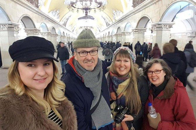 Visita privada al metro de Moscú, Moscu, RUSIA
