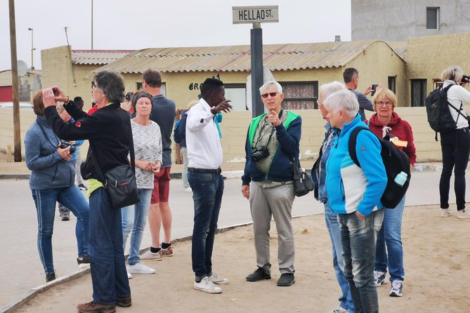 Our Cultural Township Tours are all about the people. To truly experience the warmth, friendliness and humanity of township residents of Mondesa Swakopmund, you have to walk its streets. Hear the children at play, smell the sidewalk barbecues, taste locally brewed beer and not to forget the food, local mopane worms,learn about different cultures in Namibia