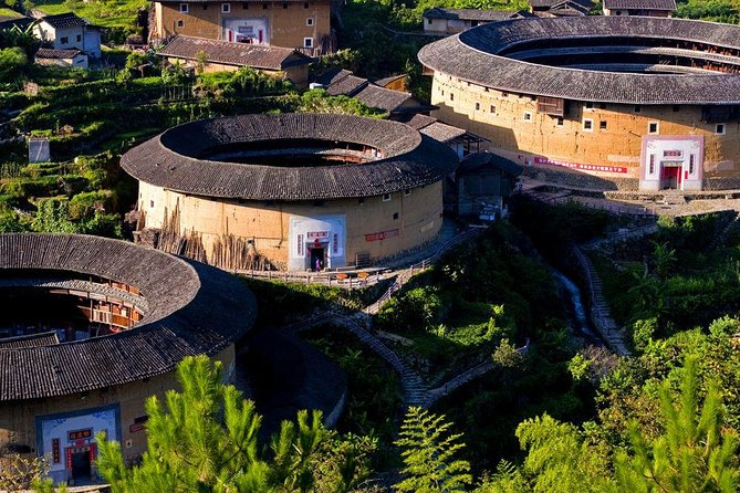 Round Trip Transfer Between the Most Picturesque Chuxi Tulou Cluster and Xiamen, Xiamen, CHINA