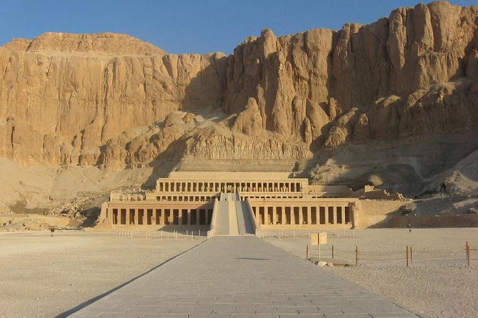 Explore the funerary temples and tombs on the Nile's West Bank. Visit the Valley of the Kings, the Colossi of Memnon and Hatshepsut Temple. Take a step back into the ancient history of Egypt by exploring the famous sites in Luxor West Bank. Visit the Temple of Karnak, the Colossi of Menmon and Hatshepsut Temple. All in a full day private guided tour. you can visit the world famous tomb of King Tutankhamen inside Valley of the Kings, or any other sightseeing in Luxor West Bank, but it will requires additional fees. Enjoy personalized attention from your expert Egyptologist guide. This will be a private morning tour to avoid he afternoon desert heat.