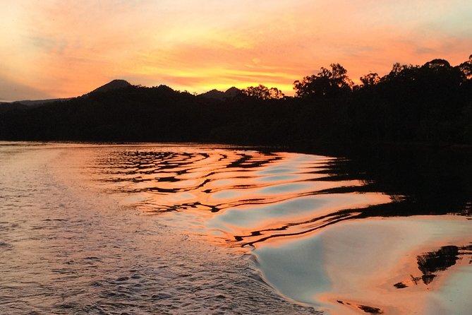 Byron Bay Sunset Rainforest Eco-Cruise, Brunswick Heads, AUSTRALIA