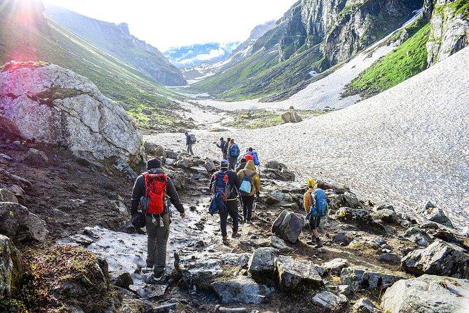 Chhika: Sacred place dedicated to Takshak Naag<br>Hamta: Corridor between Lahaul's Chandra Valley and Kullu valley<br>Chatru: Green Paradise in Barren Spiti<br>Chandratal: Sweet water lake