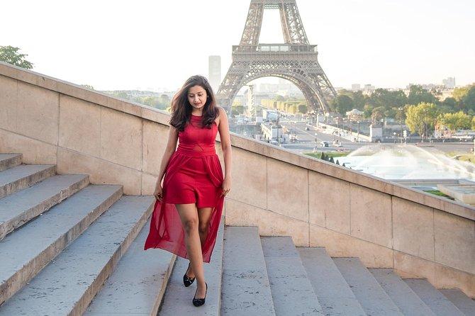 Sesión de fotos de 1 hora en TORRE EIFFEL y TROCADERO, Paris, FRANCIA
