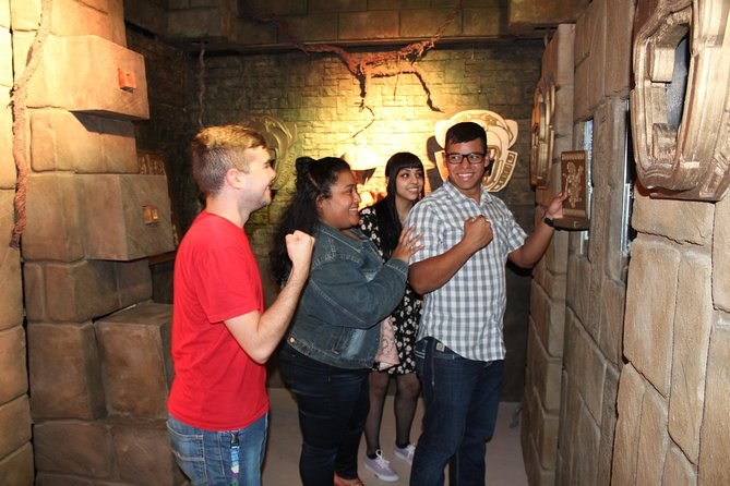 """Extreme Escape has decades of experience creating high-quality attractions with theme-park style experiences. We've incorporated multi-dimensional elements like life-sized props, theatrical lighting and even smells to make your """"escape"""" as amazingly realistic as possible."""