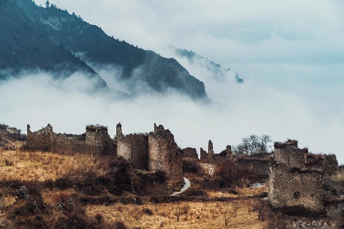 You will go for visiting 2 stunning ethnic villages in this trip.<br>Morning-You will travel time-reversely, drive upstream the Yangtze River, into Himalaya mountains, end up in the 1st Qiang minority village at 2800 meters high, with ancient watchtowers, ruins, and remaining Qiang culture.<br><br>Lunch-our grandma prepares the authentic local home meal for you. The meal serves mountain mushrooms, cured bacon, yak meat, wild vegetables, all foods are from the mountain! <br><br>Afternoon-you will go down to the 2nd Qiang village, a maze-liked village, with genius design of groundwater network, escape tunnels, slate-piled houses.<br><br>Please note that our trips start at Dujiangyan area of Chengdu, so it is best that you book your hotel at Dujiangyan, because most of the essential scenic spots of Chengdu are here in Dujiangyan. Trust us!<br>*We also provide pick-up service from Chengdu downtown / Chengdu airport (CNY 400/sedan) to Dujiangyan, please email us if you need so.<br>