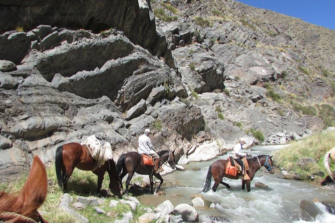 Horseback expedition to The Andes, 5 days, Mendoza, ARGENTINA
