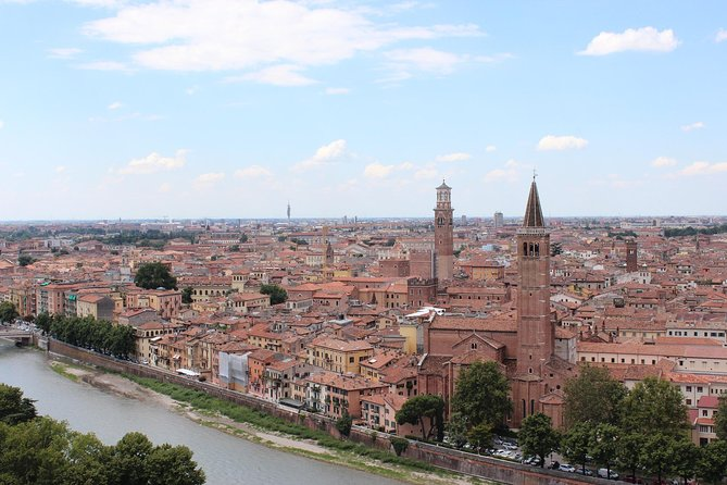 Enjoy a private full day trip to Verona and Lake Garda starting from your hotel in Milan. An english speaking driver will lead you to Verona, where one of the most romatic and famous stories of the world was set. We are talking about Romeo and Juliet. Stroll through the streets narrated by Shakespeare in a 2 hours guided sightseeing tour with a Local Guide. You will see the Juliet's Balcony, Piazza Della Signoria, the wonderful Ponte Pietra ( Stone Bridge), the unique Roman Arena.<br>As soon as the two hours guided tours are over, you will stop for lunch ( own expenses) and then, meet your driver to continue the trip to Sirmione, a wonderful village on Lake Garda. It is uniqueness is that the inhabited village stands inside the walls of a castle overlooking the sea. Here you can enjoy a breathtaking view of the Lake.<br>At he end of the day, your driver will take you back to your hotel in Milan.<br>A wonderful experience to not miss, if you are spending some days in Milan!