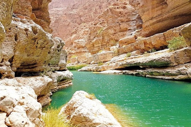 This tour will be mixed of Forts, Wadis, and Deserts adventure. From the historical city Nizwa to the land of oasis and deserts. First, Wadi Bani Khalid and it is one of the most famous wadis in Oman. It has been a well-known wadi for a number of years and popular with both adventure seekers and families wanting to have a bit of a picnic and enjoying the oasis pools! After that will head to Wahiba Sands, an ocean of regular dunes that seem to stretch out endlessly. Pale gold at noon, the towering piles of sand shift between rich yellow and coppery orange when the sun is at lower angles. Then, will go to north east of Oman, where the oasis and deserts are.