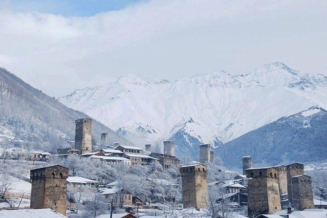 You have a chance to see Paradise on the Earth with snowy mountains and ancient towers. Spend your winter in Georgia and we will make your days special and memorable…<br><br>6 DAYS/ 5 NIGHTS<br>Min. 02 pax required<br>Price starting from 705$ with 3-star Hotel per person<br><br>Inclusions:<br>-2N Accommodation in Kutaisi at 3-star hotel<br>-3N Accommodation in Svaneti at 3-star hotel<br>-Daily Breakfast<br>-Transfer from/to airport<br>-Comfortable transportation during excursions<br>-Professional English speaking guide<br>-Water 0.5 liter per person<br><br>Excluded:<br>– Air tickets<br>– Pocket money<br><br>*The above rates are only valid for minimum 02 adults traveling together<br>*looking forward to your continuous support<br>• If you want to accommodation in 4* hotel, please contact us because prices between 3* and 4* hotels are different<br>