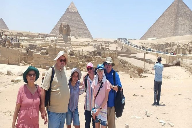 -Enjoy a comfortable pick up from Cairo airport to your hotel <br>-Marvel at the famous Great Pyramids of Giza with your expert guide<br>-See the ancient Step Pyramid of Djoser at the Sakkara archaeological site<br>-Visit Saladin Citadel, constructed in 1183 AD, and Mohamed Ali Alabaster Mosque<br>-Experience the Greek Roman sightseeing in Alexandria on the Mediterranean Sea <br>-Adventure all of your tours and transfers in a comfortable way