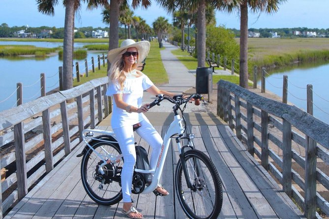 This will be the highlight of your visit to Charleston because you will effortlessly see so much of the beauty and history that makes Charleston wonderful. Electric Bikes keep riders cool even on the hottest days, and they can go everywhere.