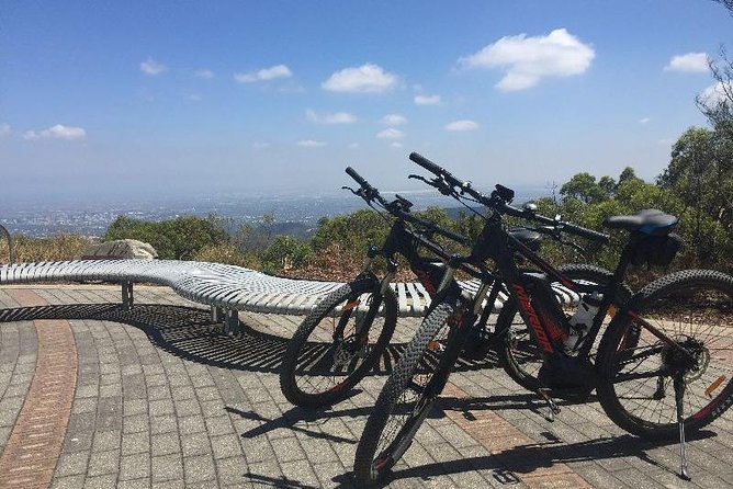 Come & Cycle & enjoy the magnificent views from Mt Osmond through to Mt Lofty by E Bike.We Cycle the historic Pioneer Womens trail where you will be empowered by the history of the trail. Cycle through Clealand national park where there is a high chance to see a Koala. Then we arrive at the Mt Lofty Summit to enjoy the views overlooking Adelaide & its coastline. Then we return via the same trail where we finish with a glass of wine from the summit of Mt Osmond.