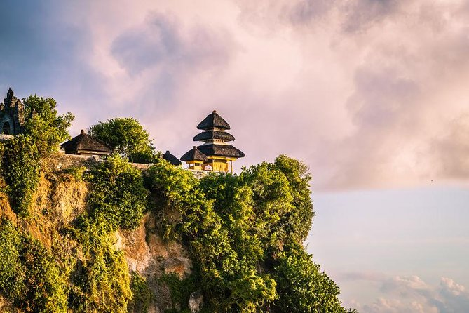 A Half day tour visiting Uluwatu, it is one of six key temples believed to be Bali's spiritual<br>pillars and renowned for its magnificent location, perched on top of a cliff.