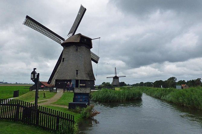 Enjoy a half day Sightseeing tour to the windmills, Irene Hoeve where they make wooden shoes and Volendam.You will visit a unique Dutch place called Zaanse Schans. Here you will see the most special windmills of The Netherlands. You can visit the last working windmill on earth who can produce paint. Thereafter you will see how we made the clogs by hand in the past and you can tast the very nice Dutch cheese. At last you will visit Volendam where you can lunch in one of the best fish restaurants in town when there is time left.