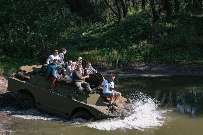 Drive a Tank Experience | BRDM-2 Military Tour |, Kiev, UCRANIA