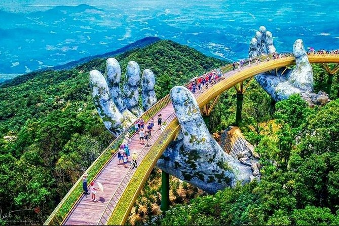 Famous Golden Bridge and Bana Hills Group Full Day Tour from Da Nang City, Da Nang, Vietnam