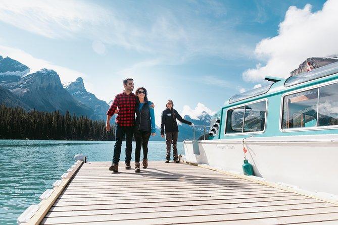 Jasper City Sightseeing Tour and Maligne Lake Cruise, Jasper, CANADA