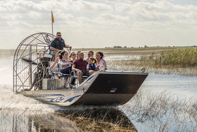 Aventura en hidrodeslizador en los Everglades de Florida y entrada para Wildlife Encounter, Fort Lauderdale, FL, ESTADOS UNIDOS