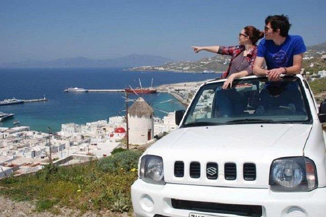 Full Day Jeep Safari in Mykonos, Miconos, Greece