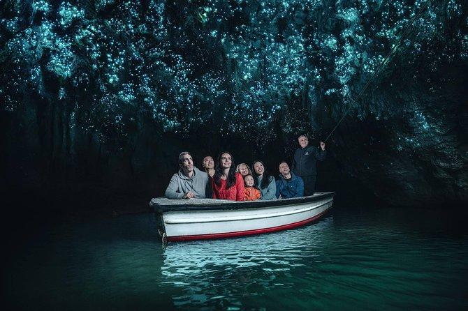 Waitomo Glowworm Caves Discovery Tour from Rotorua, Rotorua, New Zealand