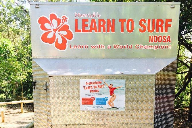 Merrick's Noosa Learn to Surf: 2 Hour group surfing lesson, Noosa y Sunshine Coast, AUSTRALIA