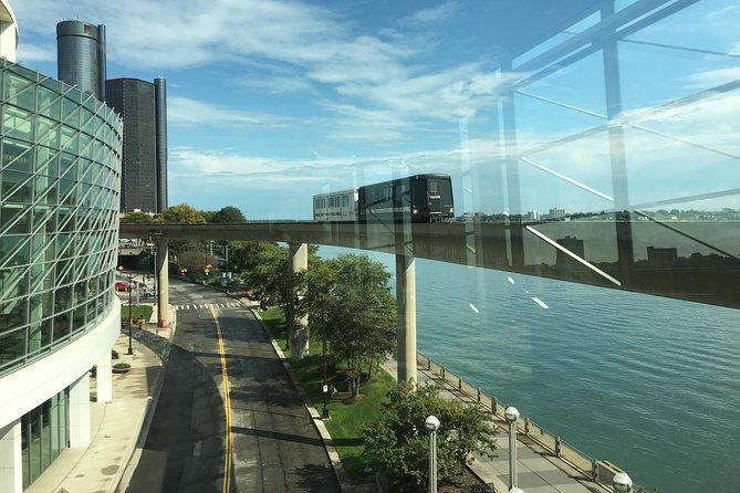 Detroit Downtown on The People Mover Audio Tour, Detroit, MI, ESTADOS UNIDOS