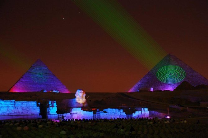 Sound and Light Show at Giza Pyramids, Guiza, Egito