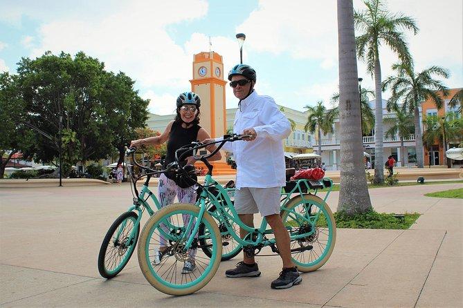 E-Bike City Tour though Cozumel & Taco Tasting Tour, Cozumel, MEXICO