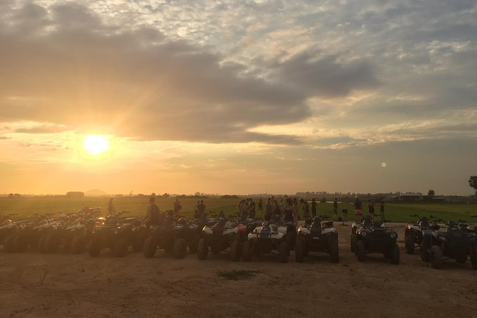 Siem Reap Quad Bike Countryside Sunset Tour for 1 hour driving, Siem Reap, Camboja