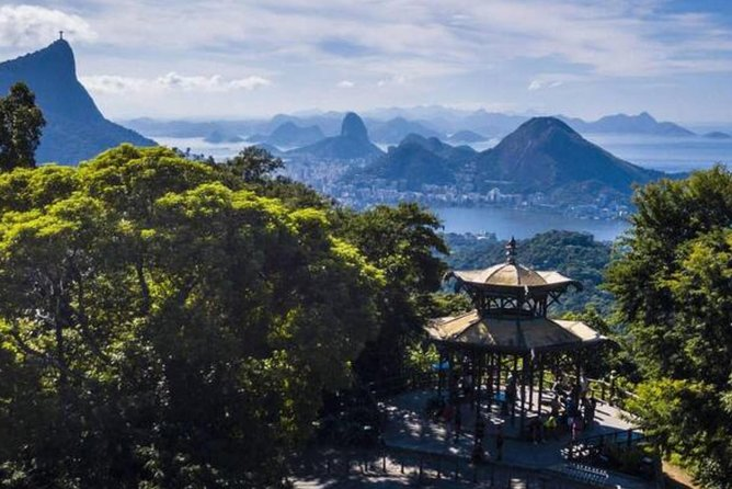 """In this full day exclusive private experience you will experience the top 5 picks, """"Big Five Rio"""", of the most important places for you to visit in Rio.<br><br>Big Five Rio: Vista Chinesa inside the Tijuca Rain Forest, Parque Lage, Christ the Redeemer Statue, Santa Teresa/Selaron Steps with Brazilian BBQ, Sugarloaf Mountain.<br><br>These places are chosen because they bring you to spots which give you the best geographical overview over Rio and because of their iconic status in the city.<br><br>We will pick you up at Copacabana, Ipanema, Leblon, Barra da Tijuca or at the Port, in our private and secure transport and along will be a Rio Official Local Guide to explain to you all the curiosities and to facilitate the experience to make it as comfortable as possible.<br><br>We aim to have fun and leave you with great memories and photos. Our Official Guide can pass the public ticket lines at the attractions, so you have more time enjoying them and less time in lines.<br><br>Your private group can be up to 15 ppl."""