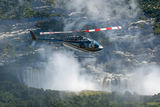 Flight of the Angels: Helicopter Tour from Livingstone, Zambia, Livingstone, ZIMBABUE