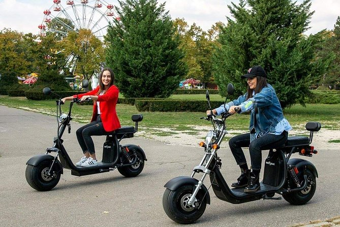 You will have an authentic romanian experience including driving most important interest points in the capital and traditional lunch. Is the only tour by electric scooter from Bucharest with trained guide to keep you safe for all experience .Protection equipement included.