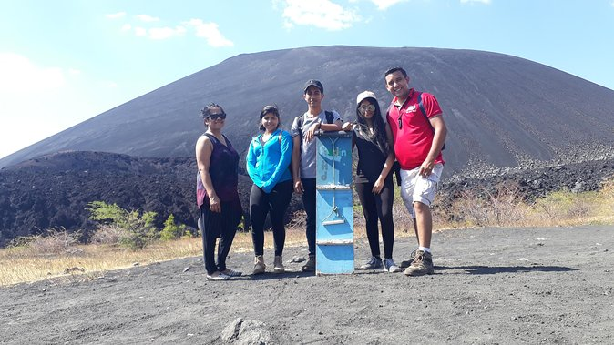 MORE PHOTOS, Sand boarding at Cerro Negro from Managua