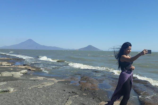 Sand boarding at Cerro Negro from Managua, Managua, NICARAGUA