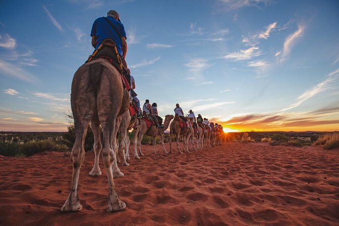 Uluru Small-Group Tour by Camel at Sunrise or Sunset, Ayers Rock, AUSTRALIA