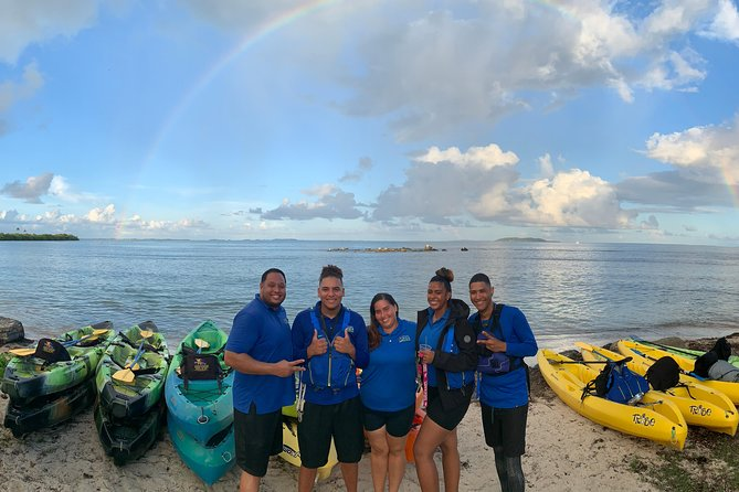 Bring a little excitement to your vacation with our night kayaking tour in the Bio Bay of Laguna Grande Reserve in Fajardo. The Bio Bay has microscopic organisms called dinoflagellates that produce a glowing effect when they are stirred by our paddles. Kayaking here at night is a must-do activity you don't want to miss!<br><br>Our Adaptive Paddling Program provides ample opportunity for creativity and many unique opportunities for anyone who would like to try kayaking for the first time. Also, if you have some special challenges, we can address these issues so that you too can enjoy the freedom that kayaking affords. Water is the ultimate equalizer. Join us for a tour today!<br><br>