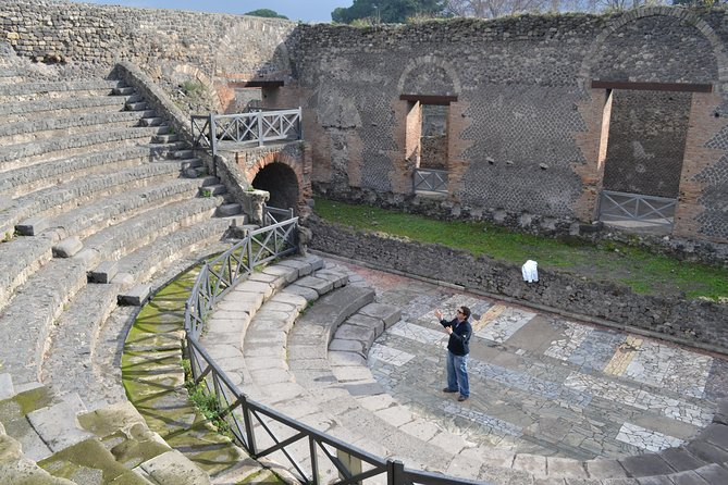 Pompeii and Amalfi Coast from the port of Salerno, Salerno, ITALIA