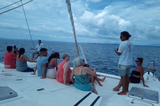 Sunset boat ride with open bar, food and water sports included / 1pm-6pm, Playa Flamingo, COSTA RICA