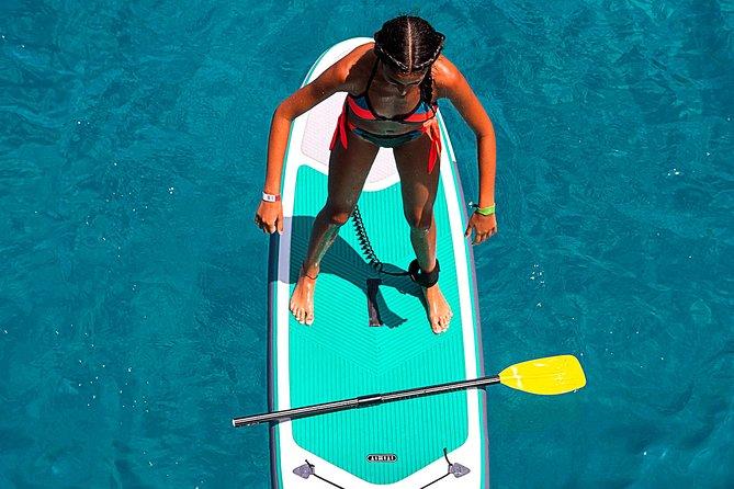 Paseo Chill out por las Calas de Ibiza con paradas, Paddle board, snorkel, bebidas, Float Your Boat, Ibiza, ESPAÑA