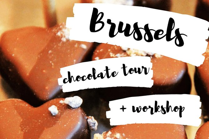 #1 Chocolate tour in Brussels, includes a chocolate workshop session<br><br>Did you know it's the first chocolate workshop organised in Brussels? You'll get to enjoy tastings of premium Belgian chocolates and learn how to make your own creations during a 1 hour chocolate workshop. The more chocolate you make, the more you can bring back home with you. Learn how to make pralines and craft your own sweet souvenirs.<br><br>Additionally, you get to explore Brussels on a 4-hour guided walking tour with a local guide, as you follow the trail of the city's top chocolate shops. Your guide will point out the major sights as you go, explaining the history of Brussels and why it's famous for its chocolate.