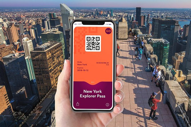 With the New York City Explorer Pass, get access to over 90 top attractions -- many with skip-the-line privileges, tours and activities! Admire sweeping views from the Empire State Building Observatory, see the city from a Hop on Hop off Tour, and much more. Create create your own itinerary and sightsee at your own pace. Save time with direct entry to attractions on your mobile device – simply show your pass on your smartphone!<br><br>Access top attractions including:<br><br>Empire State Building<br>One World Observatory<br>Big Bus Hop-on Hop-off NYC<br>Top of the Rock<br>Statue of Liberty & Ellis Island <br>Circle Line Sightseeing Cruises<br>Madame Tussauds<br>National 9/11 Memorial<br>Museum of Natural History<br>MoMA<br>Guggenheim Museum<br>The Metropolitan Museum<br>The Vessel at Hudson Yards<br>And More!