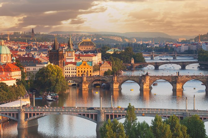 During this comprehensive private tour we will show you the highlights of Prague: Prague Castle with St.Vitus Cathedral, Castle District, Little Quarter, Charles Bridge, Old Town, Jewish Quarter, Wenceslas Square, Powder Tower and much more. We will drive or walk through the historical narrow streets and we will take you through the ancient Royal Way of Bohemian Kings used during the coronation.
