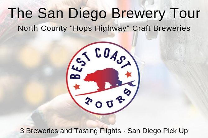 "The San Diego North County ""Hops Highway"" Craft Brewery Tour, Carlsbad, CA, ESTADOS UNIDOS"