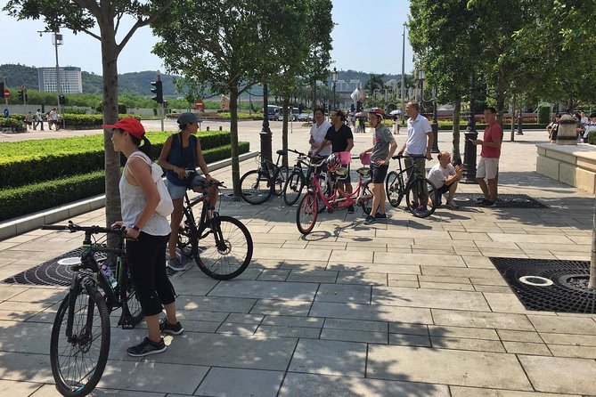 Taipa Biking Tour Ride, Macao, CHINA