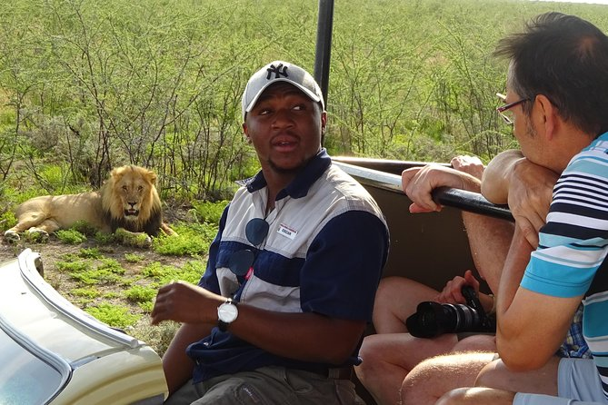 We are responsible, reliable, professionals and we take care for all our client's needs. We know exactly where to find the animals and take our clients to hotspots where these animals are found. Our aim is to spot the 4 (lions, rhinos, leopards and elephants). All our vehicles are ideal for gravel roads and they are insured and fully serviced. A first aid kit and a fire extinguisher is in all vehicles. During cold mornings we offer mini blankets for our clients to keep warm.