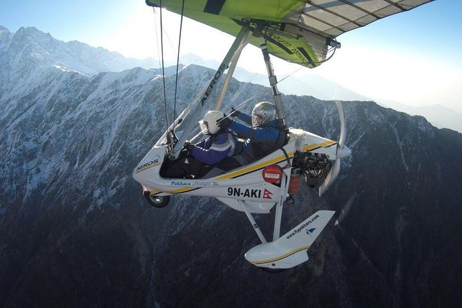 Explore Pokhara and Mountains from Glider, Pokhara, Nepal