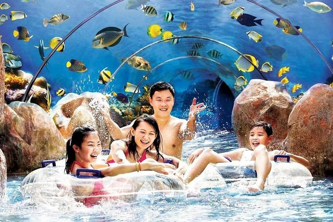 Take high-speed water slides, laze the day away drifting on a lazy river, snorkel with 20,000 tropical fish over a colorful reef, get lost in a wet maze, there is always splashing fun for everyone! Come have fun today!